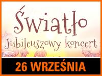 Jubileusz zespołu Światło | Bilet: 5 zł