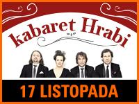 Kabaret Hrabi | Bilet: 50 zł