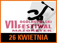 VII Ogólnopolski Festiwal Mażoretek PARADA 2015   Wstęp wolny