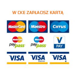 Zapłać kartą w CKE