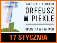 """Operetka """"Orfeusz w piekle""""   Bilet: 40 zł"""