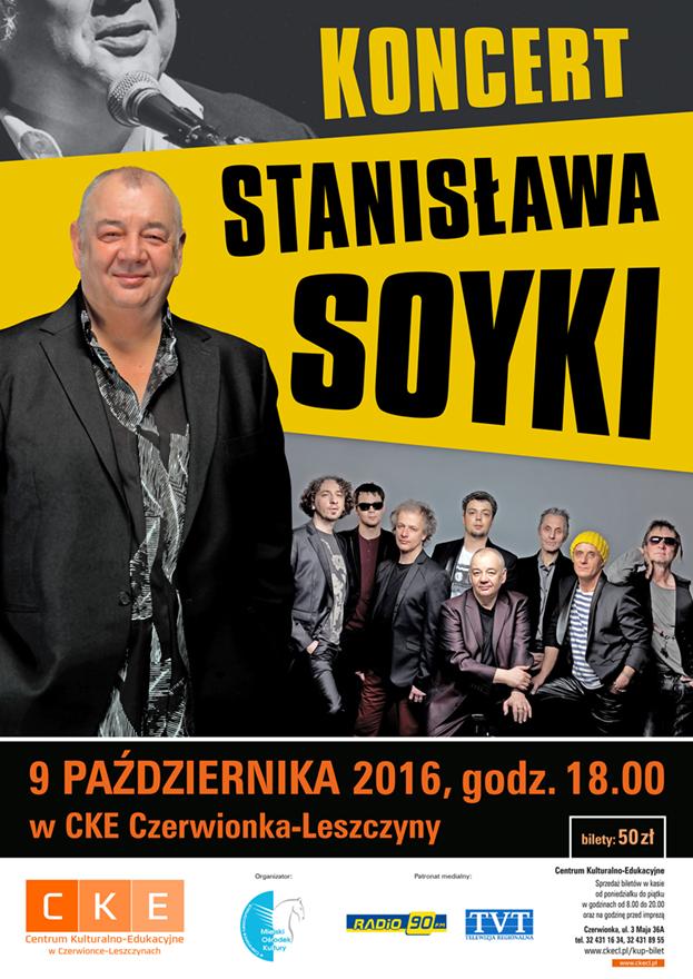 Stanisław Soyka z zespołem w CKE - Bilety: 50 zł