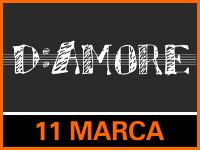 Nicola Palladini D: AMORE - Bilety: 30zł @ CKE Czerwionka-Leszczyny