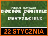 Dr Dolittle i Przyjaciele - Bilety: 10zł i 15zł @ CKE Czerwionka-Leszczyny