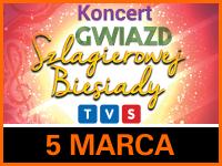 Koncert Gwiazd Szlagierowej Biesiady TVS - Bilety: 55zł @ CKE Czerwionka-Leszczyny