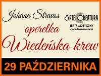 """Operetka """"Wiedeńska krew"""" - Bilety: 40zł @ CKE Czerwionka-Leszczyny"""