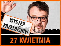 Piotr Bałtroczyk - Bilety: 40/45zł @ CKE Czerwionka-Leszczyny