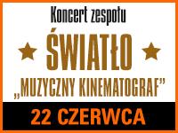 koncert zespołu Światło - Muzyczny Kinematograf @ CKE Czerwionka-Leszczyny