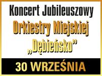 """Koncert Jubileuszowy Orkiestry Miejskiej """"Dębieńsko"""" @ CKE Czerwionka-Leszczyny"""