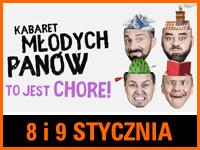Kabaret Młodych Panów - Bilety:70zł @ CKE w Czerwionce-Leszczynach