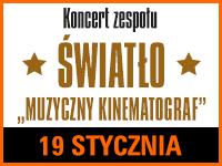 Koncert Kinematograf - Bilety:10zł @ CKE w Czerwionce-Leszczynach