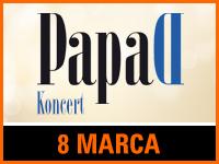 Papa D - Bilety:40zł @ CKE w Czerwionce-Leszczynach