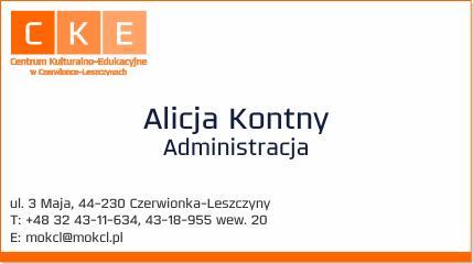 Administracja MOK