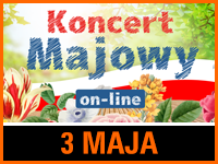 Koncert Majowy – on-line